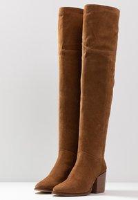 Zign - Over-the-knee boots - cognac - 4