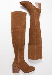 Zign - Over-the-knee boots - cognac - 3
