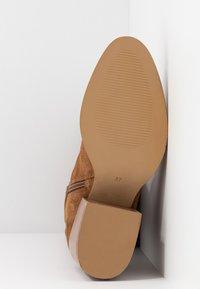 Zign - Over-the-knee boots - cognac - 6