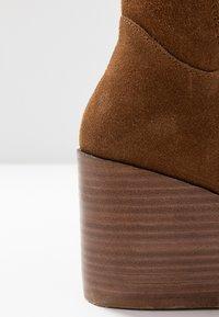 Zign - Over-the-knee boots - cognac - 2