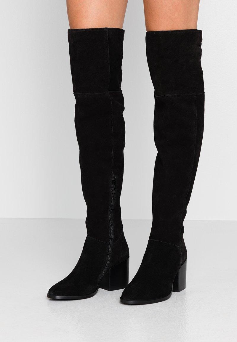 Zign - Over-the-knee boots - black