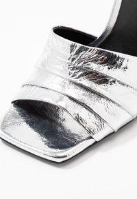 Zign - Sandály na vysokém podpatku - silver - 2