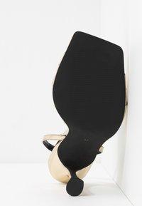 Zign - Sandály na vysokém podpatku - gold - 6