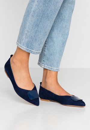 Ballerines - dark blue