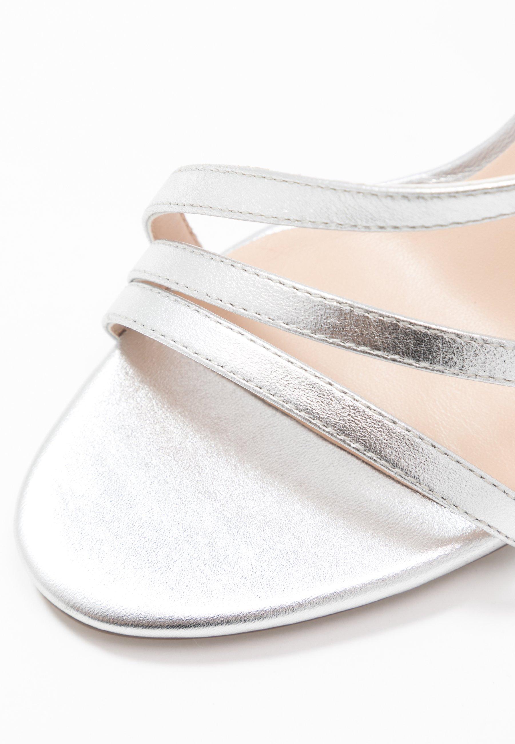 Zign Sandali con tacco - silver