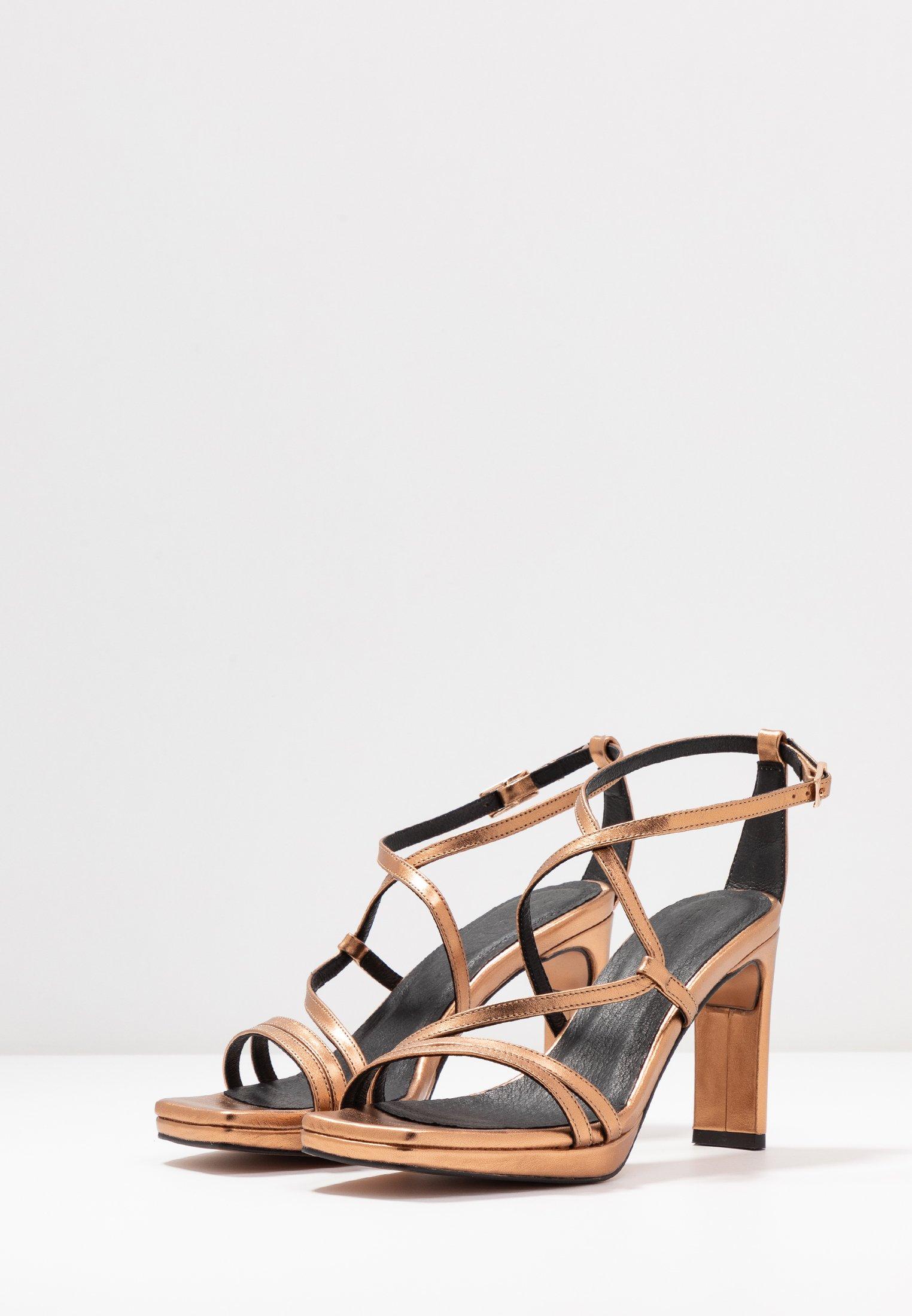 Sandales à hautsbronze Zign talons bronze v8ON0mwnyP
