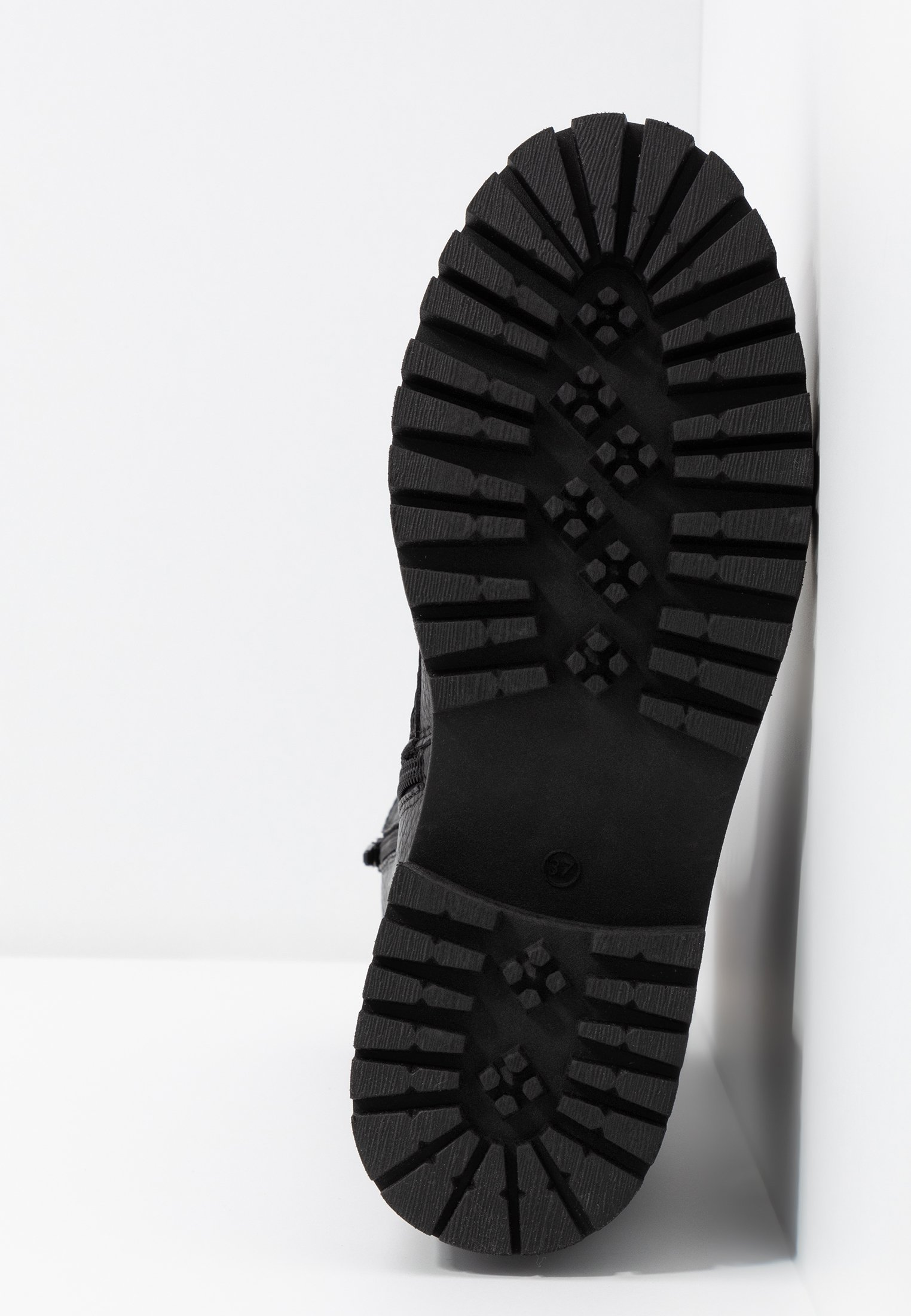 Zign Kozaki na platformie - black