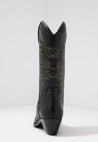 Zign - Cowboy/Biker boots - black - 5