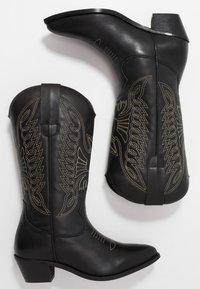 Zign - Cowboy/Biker boots - black - 3