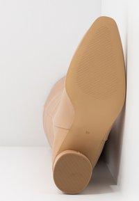 Zign - Stivali alti - beige - 6