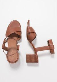 Zign - Sandals - cognac - 3