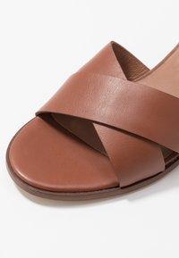 Zign - Sandals - cognac - 2