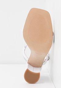 Zign - Sandaler med høye hæler - white - 6