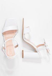 Zign - Sandaler med høye hæler - white - 3