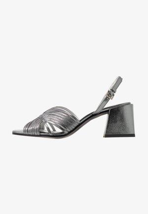 Sandals - gunmetal