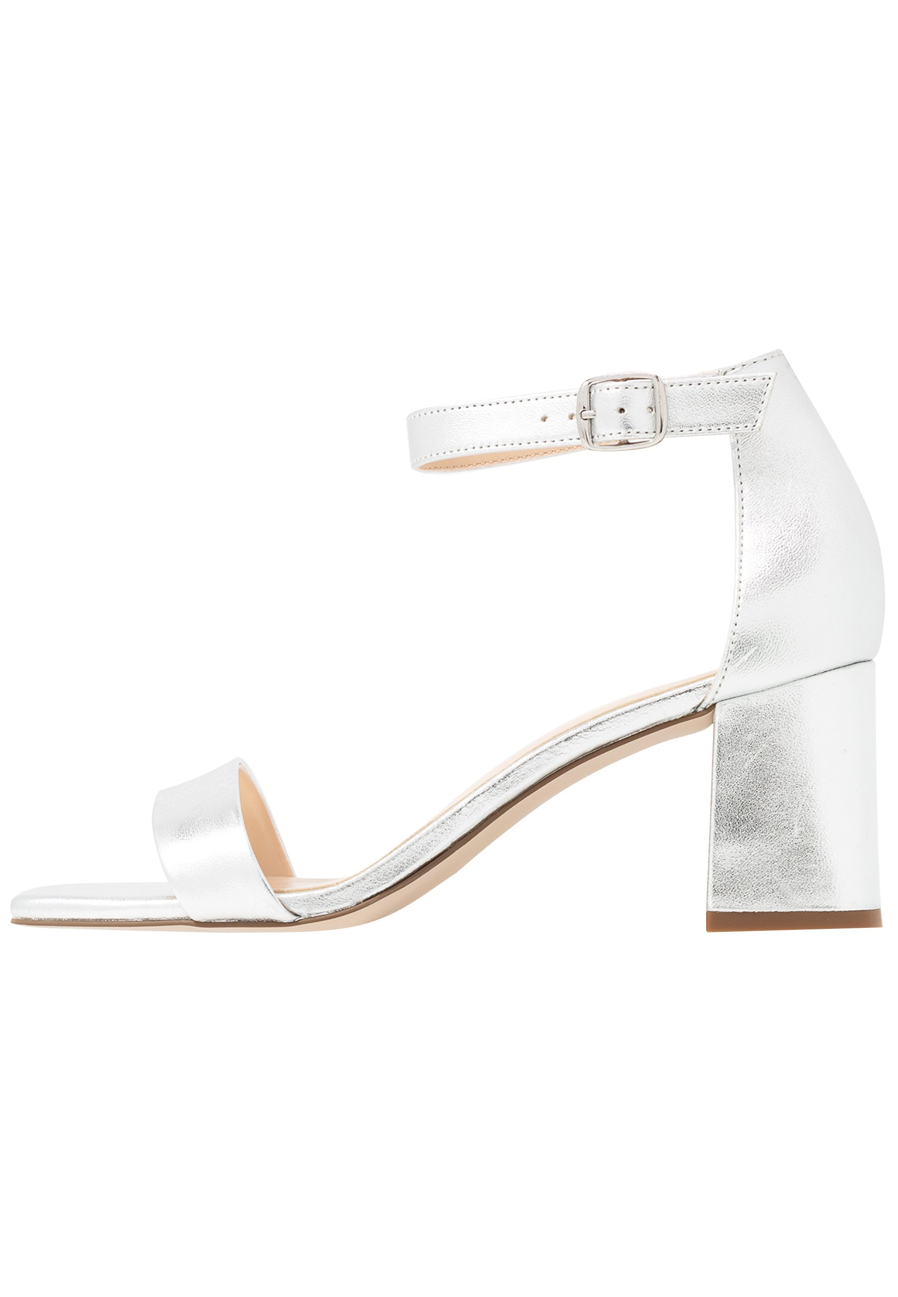 Silberne Sandalen für Damen online kaufen   Zalando