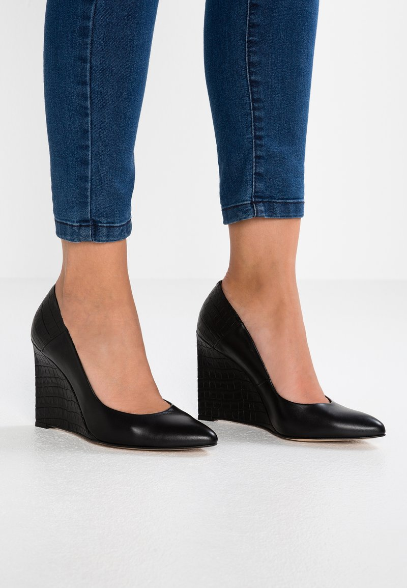 Zign - Højhælede pumps - black