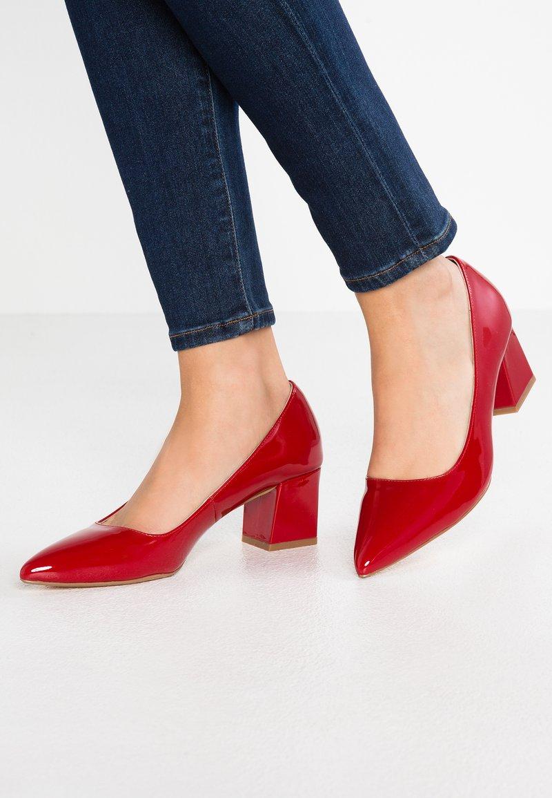 Zign - Tacones - red