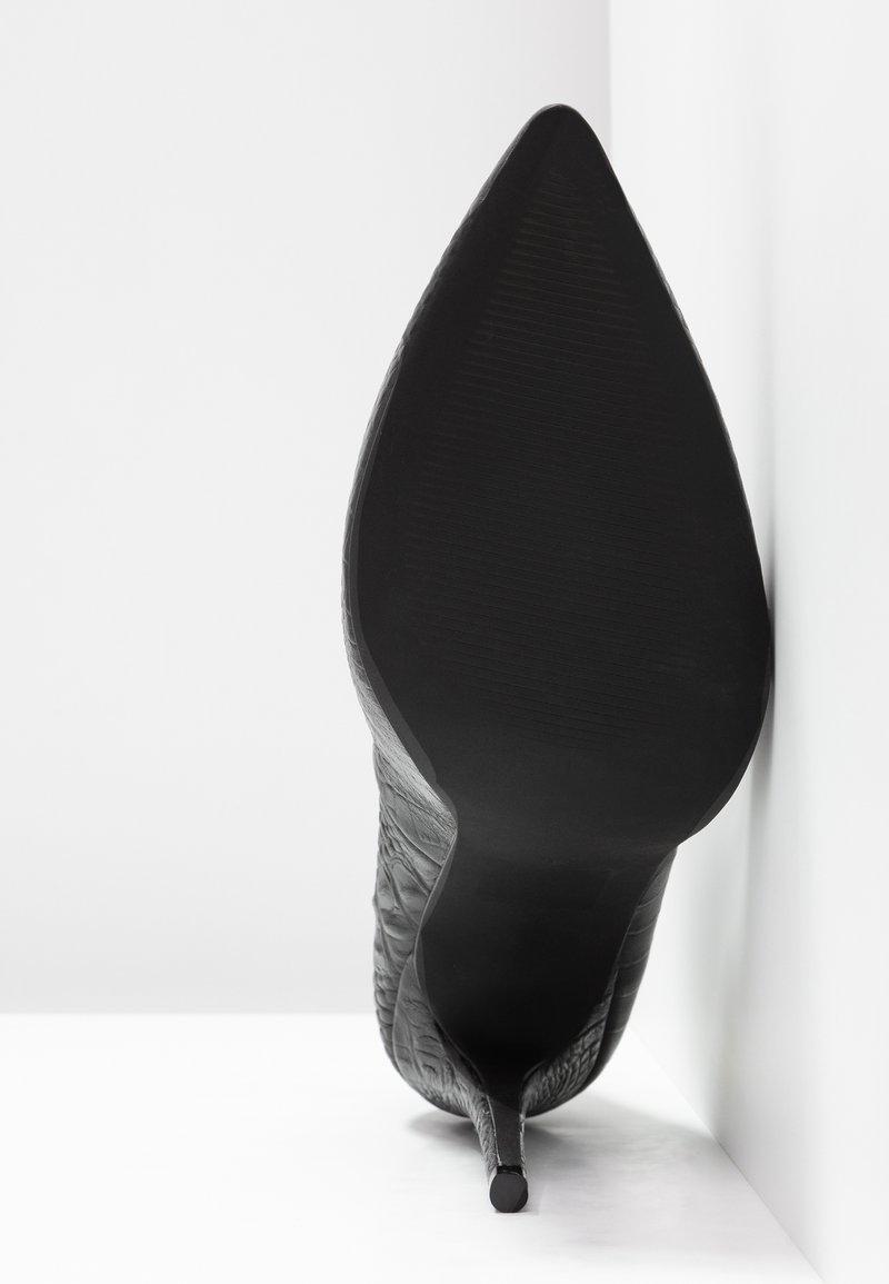 Zign Escarpins Hauts Black À Talons n8PkwO0