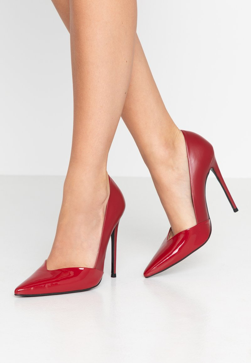 Zign - Zapatos altos - red