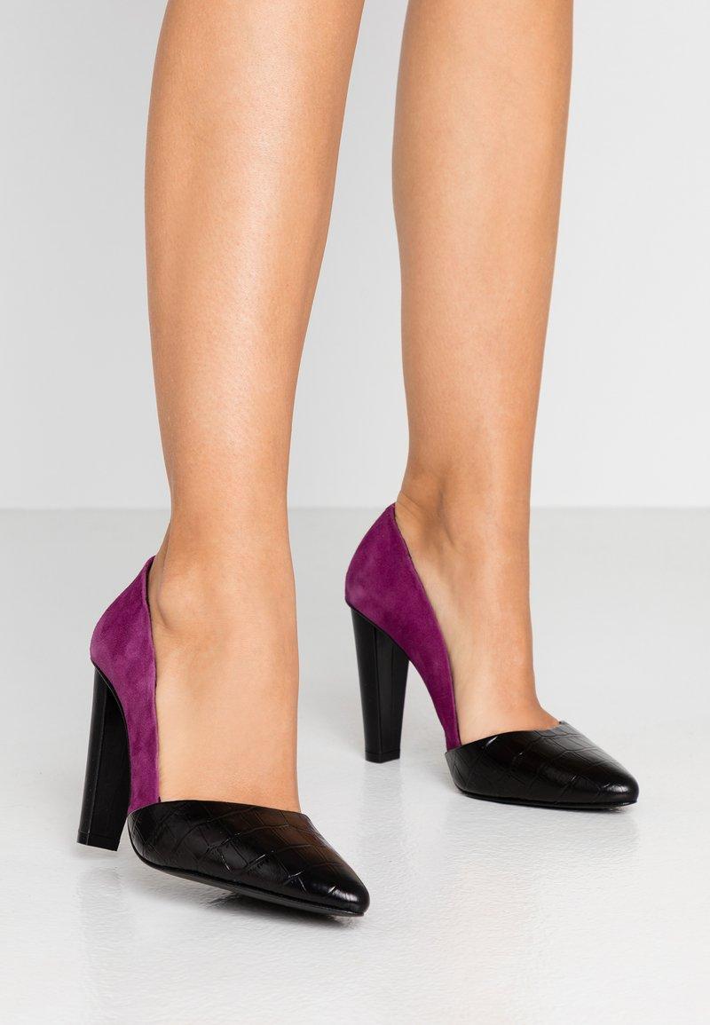 Zign - Zapatos altos - black/pink