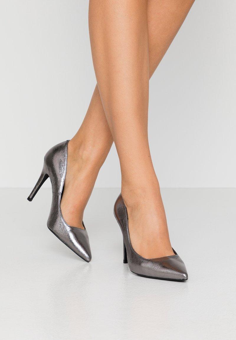 Zign - High heels - gunmetal