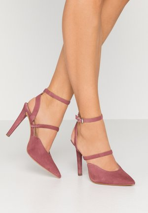High Heel Pumps - mauve