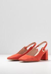 Zign - Classic heels - coral - 4