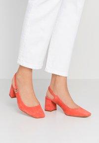 Zign - Classic heels - coral - 0