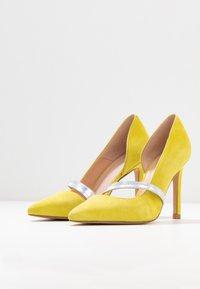 Zign - Zapatos altos - yellow - 4
