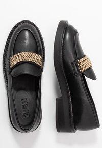 Zign - Nazouvací boty - black - 3