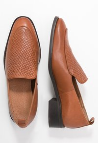 Zign - Nazouvací boty - dark brown - 1