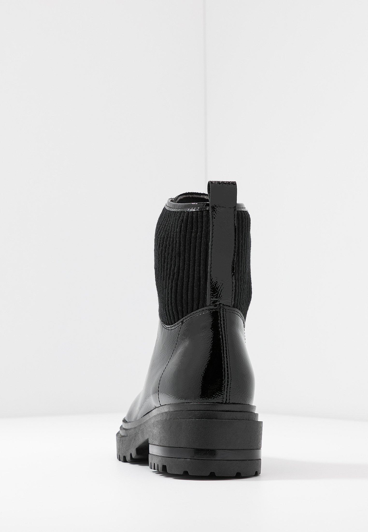 Zign Bottines À Lacets - Black