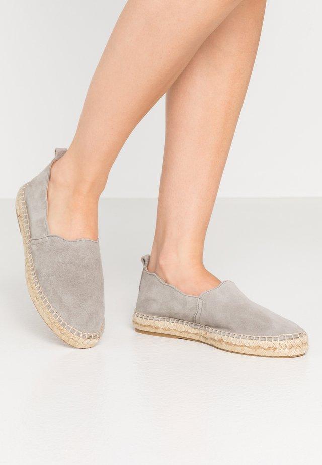 Espadrilles - grey