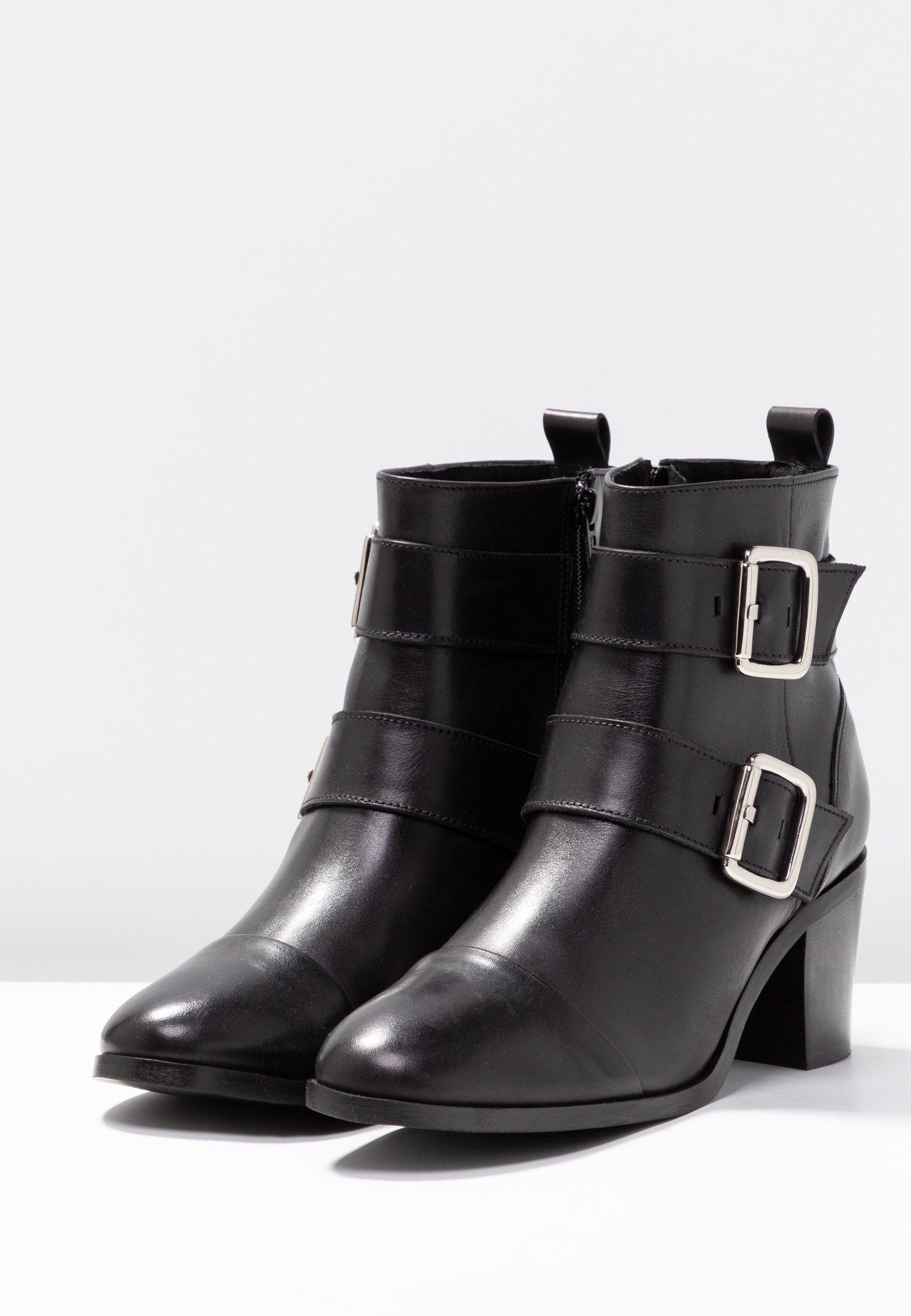 Zign Boots à talons black