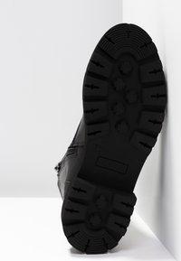 Zign - Botines con cordones - black - 6