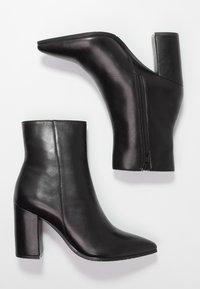 Zign - Kotníkové boty - black - 3