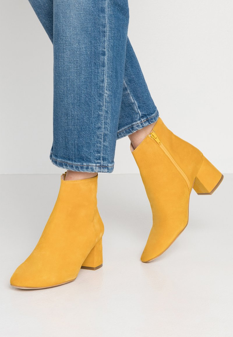 Zign - Ankle Boot - yellow