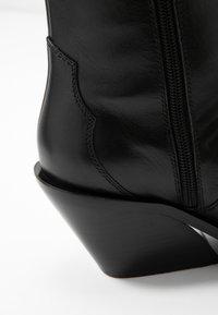 Zign - Cowboy/biker ankle boot - black - 2