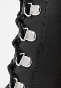 Zign - Højhælede støvletter - black - 2