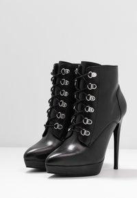 Zign - Højhælede støvletter - black - 4