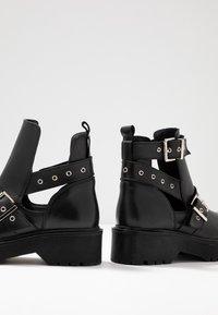 Zign - Kotníková obuv - black - 7