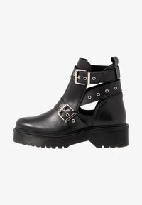 Zign - Kotníková obuv - black - 1