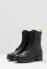 Zign - Snørestøvletter - yellow/black - 3