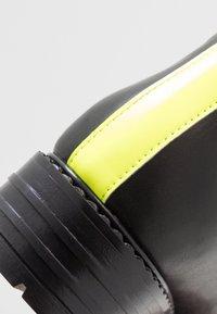 Zign - Snørestøvletter - yellow/black - 2