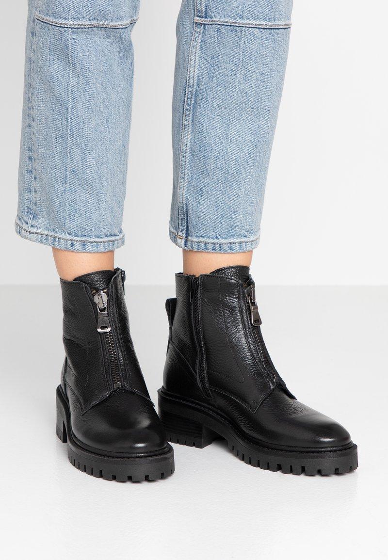 Zign - Cowboystøvletter - black