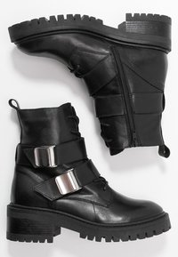 Zign - Lace-up ankle boots - black - 3