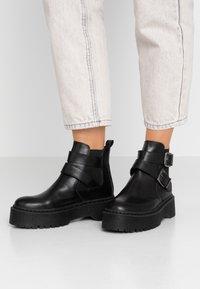 Zign - Korte laarzen - black - 0