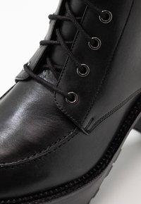 Zign - Ankelboots med høye hæler - black - 2