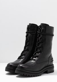 Zign - Platåstøvletter - black - 4
